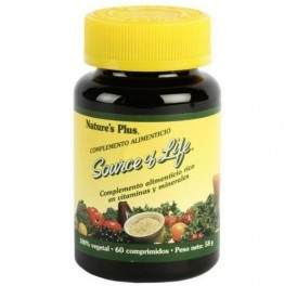 NATURE'S PLUS SOURCE OF LIFE NEW 60COMP