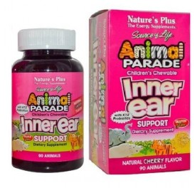 NATURE'S PLUS ANIMAL PARADE INNER EAR 90COMP MASTICABLES