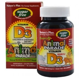 NATURE'S PLUS ANIMAL PARADE INMUNE BOOSTER VIT D3 LIQUIDA 10ML