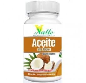 EL VALLE ACEITE DE COCO 60PERLAS