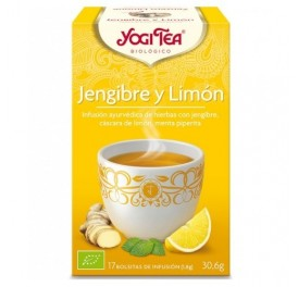 YOGI TEA GINGER LEMON 17INF GOLDEN TEMPLE