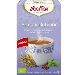 YOGI TEA ARMONIA INTERIOR BIO 17F GOLDEN TEMPLE