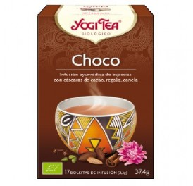 YOGI TEA CHOCO BIO 17F BIO GOLDEN TEMPLE