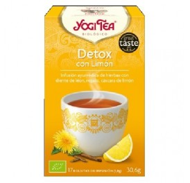YOGI TEA DETOX CON LIMÓN BIO 17F GOLDEN TEMPLE