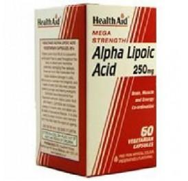 HEALTH AID ACIDO ALFA LIPOICO 60CAP