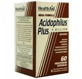 HEALTH AID ACIDOPHILUS PLUS 60CAP