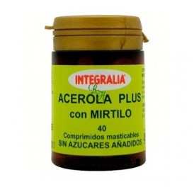 INTEGRALIA ACEROLA PLUS MIRTILO 40COMP