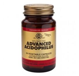 SOLGAR ACIDOPHILUS AVANZADO (NO LACTEO) 50CAP