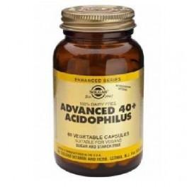 SOLGAR ACIDOPHILUS AVANZADO 40 PLUS 60CAP