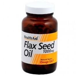 HEALTH AID ACEITE DE LINO FLAX SEED OIL 60CAP