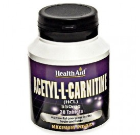 HEALTH AID ACETYL L CARNITINE 30COMP