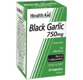HEALTH AID AJO NEGRO 30CAP