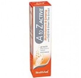 HEALTH AID MULTI A-Z ACTIVE 20COMP EFERVESCENTES