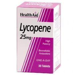 HEALTH AID LICOPENO 25MG 30COMP