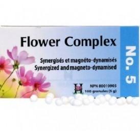 HOLISTICA FLOWER COMPLEX Nº 5 MIEDOS 100GRANULOS