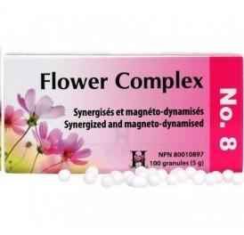 HOLISTICA FLOWER COMPLEX Nº 8 DESESPERACION 100GRANULOS