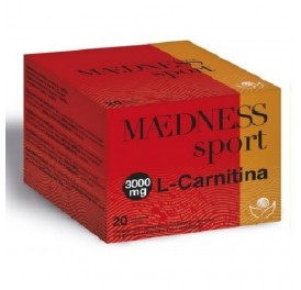 BIOSERUM L-CARNITINA MAEDNESS SPORT 3GR 20 STICKS