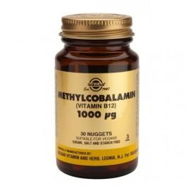 SOLGAR VIT. B12 METILCOBALAMINA 1000µG 30C MASTICABLES