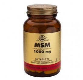 SOLGAR MSM 1000MG 60COMP