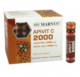 MARNYS APIVIT C PLUS 2000MG 20AMP