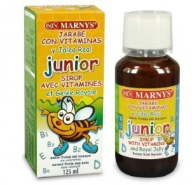 MARNYS JARABE JUNIOR MULTIVIT + JALEA REAL 125ML
