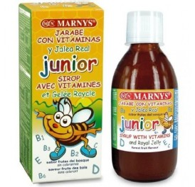 MARNYS JARABE JUNIOR MULTIVIT + JALEA REAL 250ML