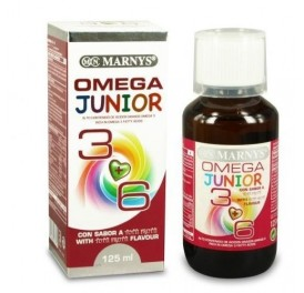 MARNYS OMEGA 36 VEGETAL JUNIOR BIO 125ML