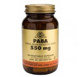 SOLGAR PABA 550MG 100CAP