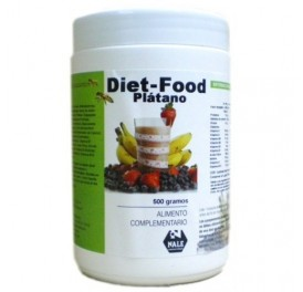 NALE DIET FOOD BATIDO PLATANO 500GR