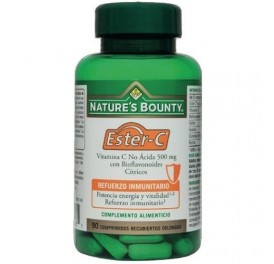NATURE'S BOUNTY ESTER-C 500MG BIOFLAVONOIDES 90COMP