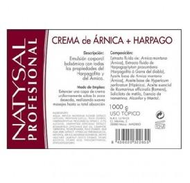 NATYSAL CREMA BALSAMICA HARPAGOFITO ARNICA 1KG