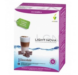NOVA DIET BATIDO LIGHT NOVA CHOCOLATE 6x35G