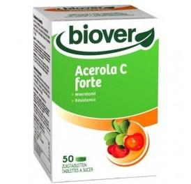 BIOVER ACEROLA C FORTE 50COMP MASTICABLES