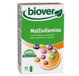 BIOVER MULTIVITAMINAS 45COMP