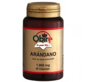 OBIRE ARANDANO NEGRO 1000MG 60CAP