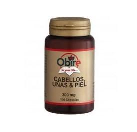 OBIRE CABELLO+UÑAS+PIEL 300MG 100CAP