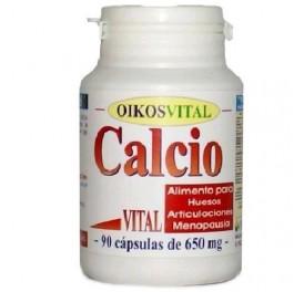 OIKOS CALCIO VITAL 650MG 90CAP