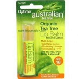 OPTIMA HEALTH PROTECTOR LABIAL TE TREE