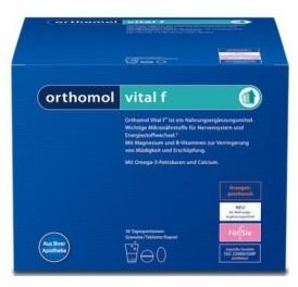 ORTHOMOL VITAL F 30 SOBRES/CAP