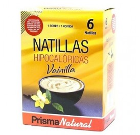 PRISMA NATURAL NATILLAS DE VAINILLA 6 SOBRES