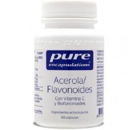 PURE ENCAPSULATIONS ACEROLA / FLAVONOIDES 60CAP