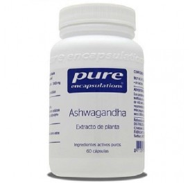 PURE ENCAPSULATIONS ASHWAGANDHA 60CAP