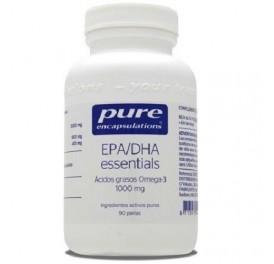 PURE ENCAPSULATIONS EPA DHA 60PERLAS