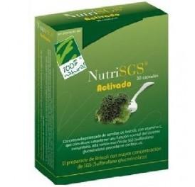 CIEN X CIEN NATURAL NUTRI SGS ACTIVADO 30CAP