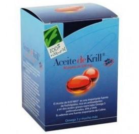 CIEN X CIEN NATURAL ACEITE KRILL NKO® 90PERLAS