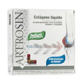 SANTIVERI ARTROSIN COLAGENO LIQUIDO HIALURONICO 16AMP