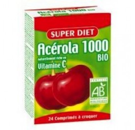 SUPER DIET ACEROLA 1000 BIO 24COMP
