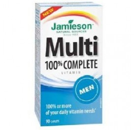 JAMIESON MULTI 100% COMPLETE MEN MULTIVITAMINAS 90COMP