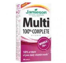 JAMIESON MULTI 100% COMPLETE WOMEN 50+ 90COMP