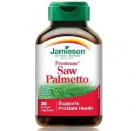 JAMIESON PROSTEASE SAW PALMETTO 125MG 60CAP